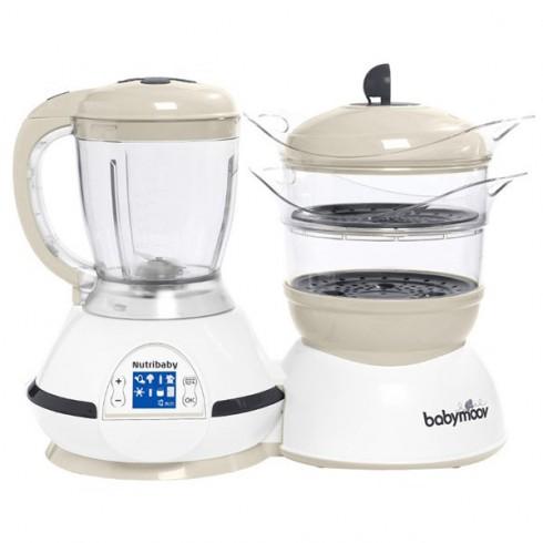 Robot de bucatarie Babymoov Nutribaby 5 in 1 cream