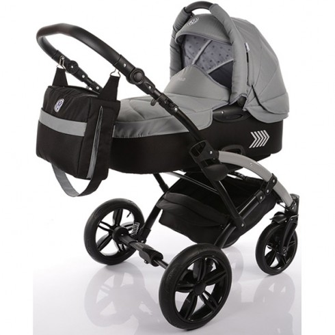 Carucior Volkswagen Polo Knorr-Baby 2 in 1 gri