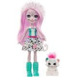 Papusa Enchantimals by Mattel Sybill Snow Leopard cu figurina Flake {WWWWWproduct_manufacturerWWWWW}ZZZZZ]