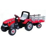 Tractor Peg Perego Maxi Diesel cu remorca