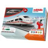 Trenulet electric Marklin ICE 3 Starter Set cu accesorii