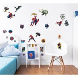 Kit decor Walltastic Sticker Spiderman