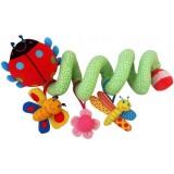 Spirala plush Baby Mix Ladybird