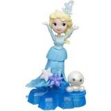 Figurina Hasbro Frozen Elsa pe fulg