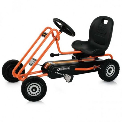 Go Kart Hauck Lightning orange