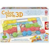 Puzzle Educa Color Form 3D