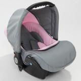 Scaun auto Baby Merc Junior light grey pink