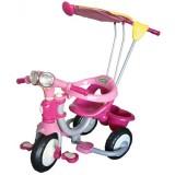Tricicleta cu copertina Arti Duo 33-3 roz