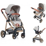 Carucior Kiddo Jazz 2 in 1 sand brown