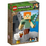 LEGO Minecraft Alex BigFig cu Gain 21149