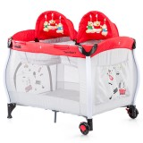Patut pliabil Chipolino Twin Stars red