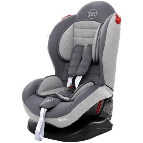 Scaun auto Coto Baby Swing melange grey