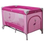 Patut pliabil Coto Baby Samba pink