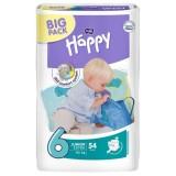 Scutece Happy 6 Big Pack Junior Extra 54 Buc pentru 16+ Kg