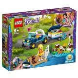 LEGO Friends Vehiculul cu Remorca al Stephaniei 41364