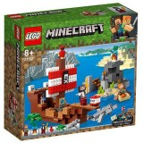 LEGO Minecraft Aventura Corabiei de Pirati 21152