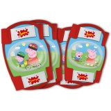 Set cotiere si genunchiere Eurasia Peppa Pig