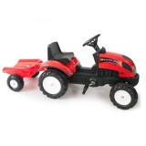 Tractor cu Remorca Falk Garden Master red