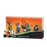 Set 4 figurine Bullyland Zootropolis