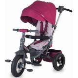Tricicleta cu copertina si sezut reversibil Coccolle Corso violet