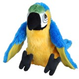 Jucarie Wild Republic Papagal Macaw Albastru 20 cm