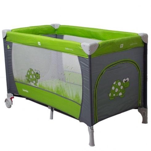 Patut pliabil Coto Baby Samba verde