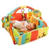 Salteluta interactiva Bright Starts Swingin Safari Baby's Play Place