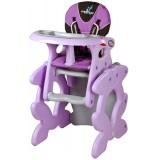 Scaun de masa Caretero Primus purple