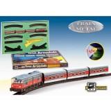 Trenulet electric Pequetren Articulado cu macaz