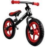 Bicicleta fara pedale Lionelo Fin Plus black red