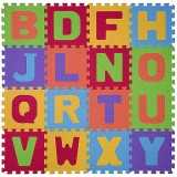 Covoras de joaca din spuma Baby Ono Puzzle 16 piese