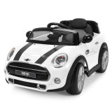 Masinuta electrica Chipolino Mini Cooper Hatch white