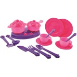 Set Ucar Toys Princess Maya and Friends Accesorii bucatarie 18 piese