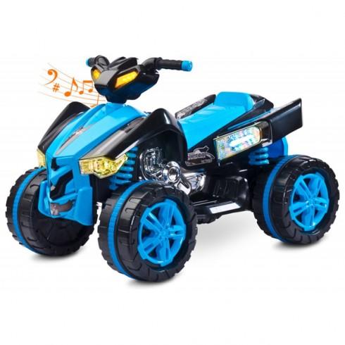 ATV Toyz Raptor 2x6V blue