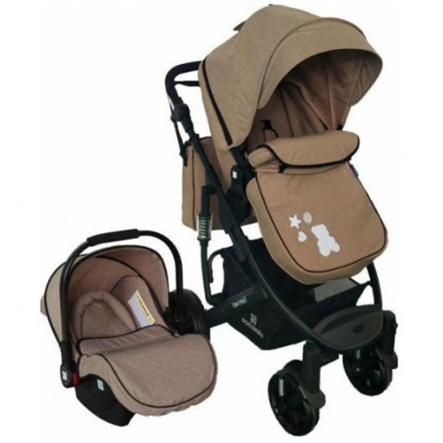 Carucior Kikkaboo Beloved 2 in 1 beige