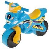 Motocicleta de impins MyKids Racing 01391 albastru galben
