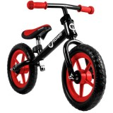 Bicicleta fara pedale Lionelo Fin Plus black red