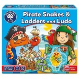 Joc Orchard Toys Piratii Pirate Snakes and Ladders & Ludo