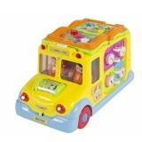 Masinuta interactiva Hola Toys cu activitati
