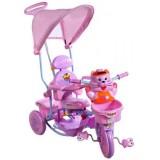 Tricicleta cu copertina Arti Tigru 2880 roz