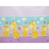 Perna de alaptat MyKids Happy Giraffe multifunctionala C mov
