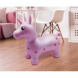 Saritor gonflabil Ludi Unicorn roz