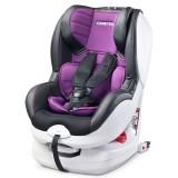 Scaun auto Caretero Defender cu sistem Isofix purple