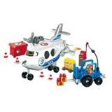 Set constructii Ecoiffier Avion Cargo