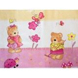 Perna de alaptat MyKids Teddy Gradina multifunctionala C roz