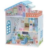 Puzzle 3D Cubic Fun Casuta papusilor Vila de la mare