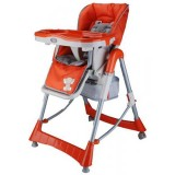 Scaun de masa BabyGo Tower Maxi orange