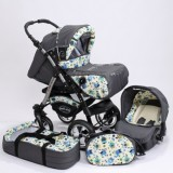 Carucior Baby Merc Junior Plus 3 in 1 Owls