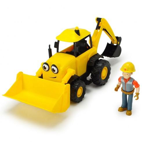 Excavator Dickie Toys Bob Constructorul Action Team Scoop cu 1 figurina Bob {WWWWWproduct_manufacturerWWWWW}ZZZZZ]