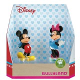 Set Figurine Bullyland Minnie si Mickey Love